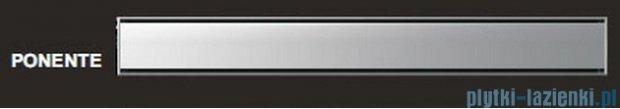 Wiper Odpływ liniowy Premium Ponente 90cm z kołnierzem mat P900MPS100