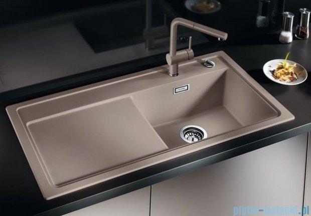 Blanco Zenar XL 6 S  Zlewozmywak Silgranit PuraDur komora prawa kolor: szampan z kor. aut. i szklaną deską do krojenia 519277