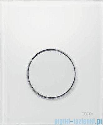Tece Przycisk spłukujący z tworzywa do pisuaru Teceloop biały, przycisk chrom połysk 9.242.627