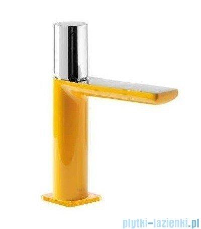 Tres Loft Colors Bateria umywalkowa z korkiem automatycznym kolor żółty 200.103.02.AM.D