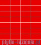 Mozaika ścienna prostokątna Tubądzin Colour Red 32,7x29,5