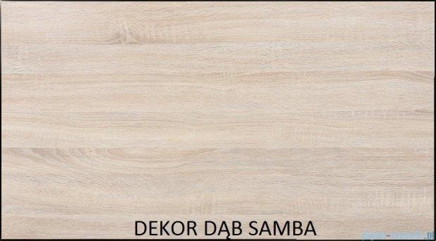 Antado Spektra Szafka wisząca górna 60x20x72 dąb Samba FDF-428/62