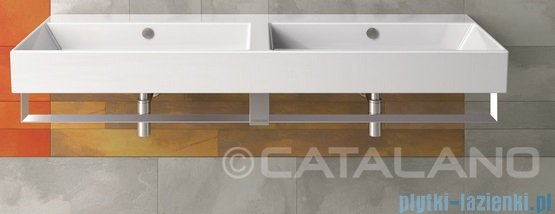 Catalano Premium Reling do umywalki 144 cm chrom 5P15VP00