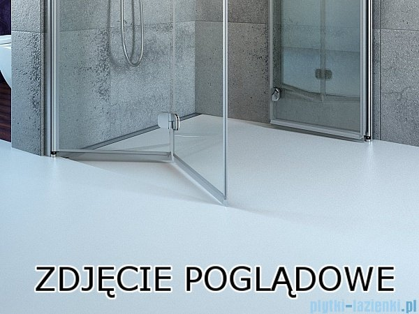 Radaway Idea Kdj kabina 120x80cm prawa szkło przejrzyste 387042-01-01R/387051-01-01L