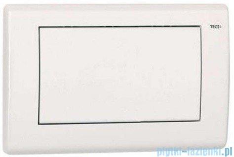 Tece Przycisk spłukujący do WC Teceplanus biały połysk 9.240.314