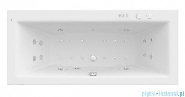Roca Vita wanna 170x75cm z hydromasażem Smart WaterAir Plus A24T070000