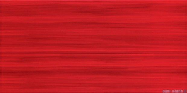 Tubądzin Wave red płytka ścienna 22,3x44,8
