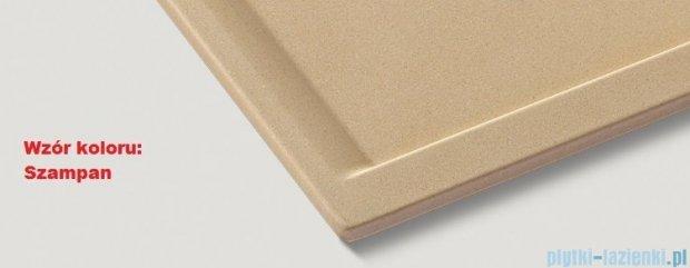 Blanco Zenar XL 6 S  Zlewozmywak Silgranit PuraDur komora prawa kolor: szampan z kor. aut. i jesionową deską do krojenia 519236