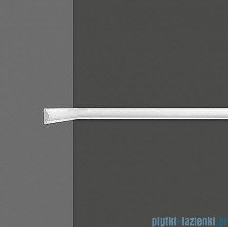 Dunin Wallstar profil dekoracyjny ścienny gładki 2,5x1x200cm PP-022