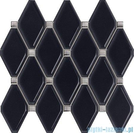 Tubądzin Abisso navy mozaika ścienna 29,8x27