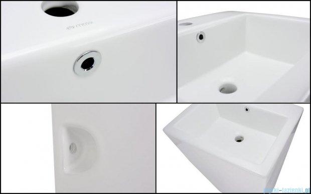 Massi Inglo umywalka wolnostojąca 50x44x84 cm biała MSU-4003