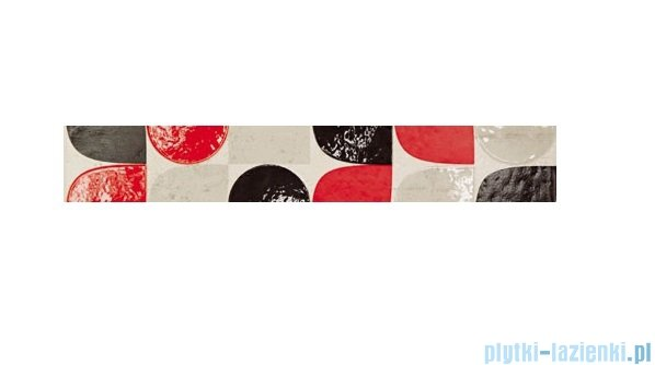 Domino Bihara modern listwa ścienna 7,4x44,8