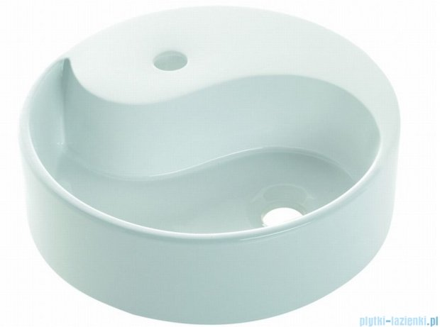 Bathco umywalka nablatowa Ying Yang 40x12 cm 0040B