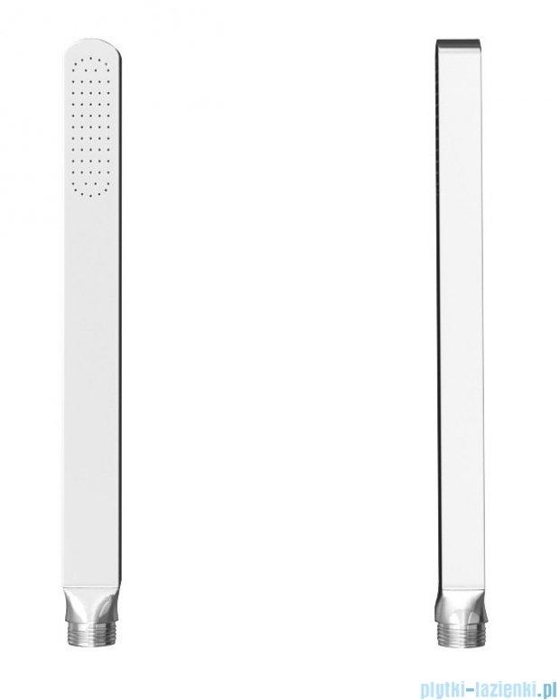 Kohlman Saxo zestaw wannowo-prysznicowy chrom QW211SQ20-007