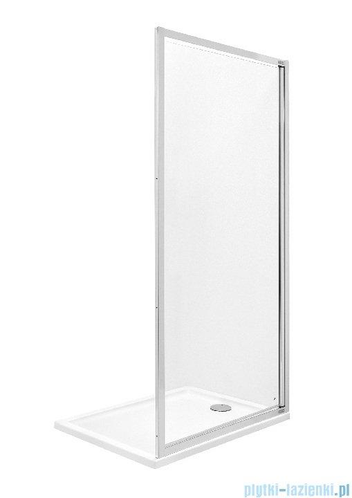 Roca Town ścianka boczna 80cm szkło przejrzyste MaxiClean AMP2008012M