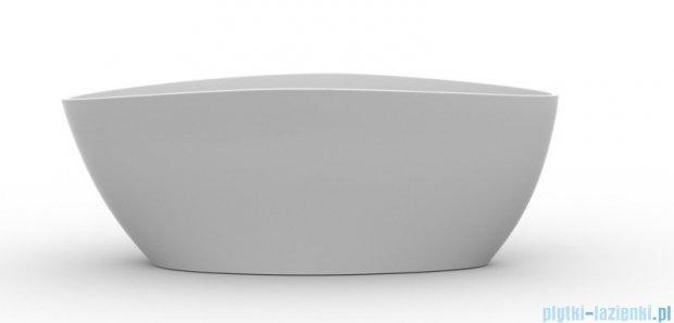 Omnires Barcelona wanna 156x71cm wolnostojąca biały połysk Marble+Barcelona156BP