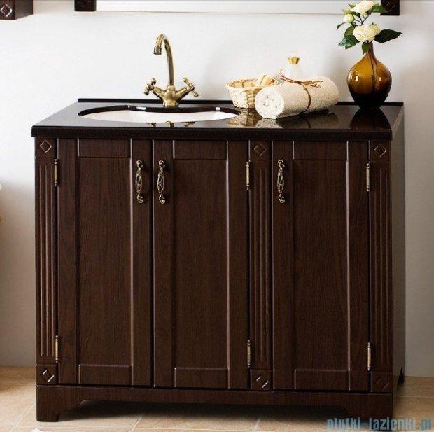 Antado Ritorno szafka wenge z umywalką i blatem 100x50x81cm VR-240-10-77  + UMB-1004-04
