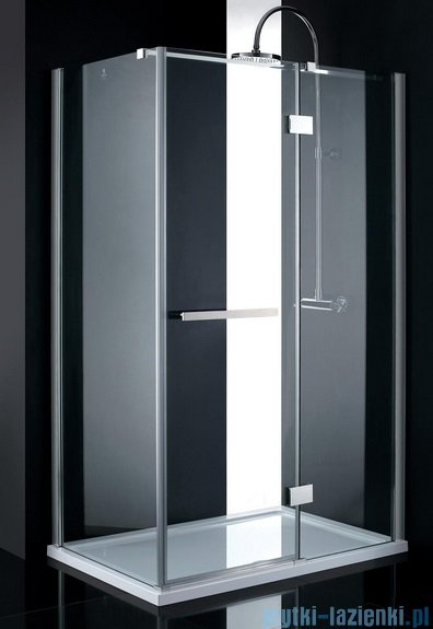 Atrium Catania kabina prostokątna 90x80x200 cm szkło: przejrzyste US0309/US080
