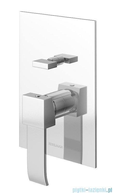 Kohlman Axis zestaw prysznicowy chrom QW210NQ20