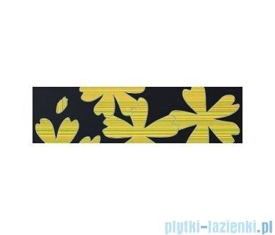 Listwa ścienna Tubądzin Colour Flower Gray 59,3x16,25