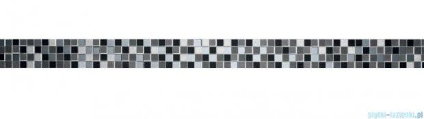 Tubądzin Vampa platinum listwa ścienna 3,9x59,8