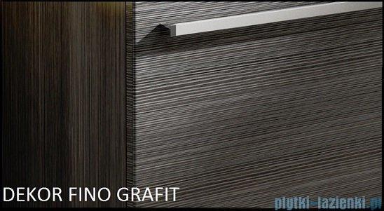Antado Spektra ceramic szafka podumywalkowa 2 szuflady 62x43x50 fino grafit FDF-AT-442/65/2GT-46