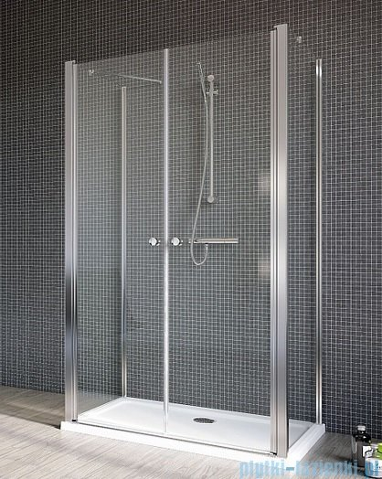 Radaway Eos II DWD+2S kabina prysznicowa 80x80x80x197 szkło przejrzyste 3799400-01/3799410-01L/3799410-01R