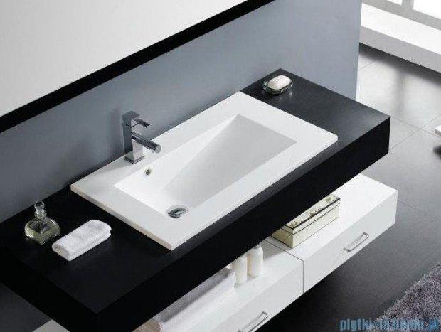 Bathco Tecno umywalka blatowa 100x45 cm 0568