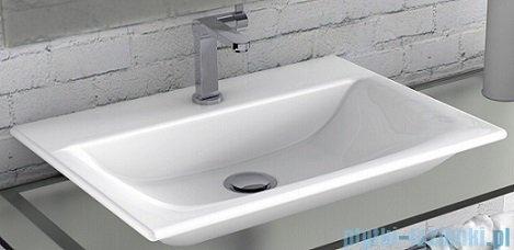 Cerastyle Olinda umywalka 50x36,5cm nablatowa / ścienna 031600-u