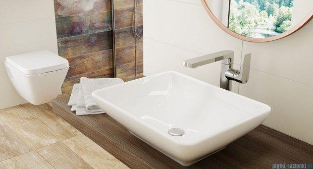 Deante Gardenia umywalka stawiana na blacie 49x39 cm CDG 6U5S