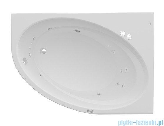 Roca Orbita wanna 160x100cm prawa z hydromasażem Smart Water Plus A24T228000