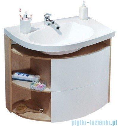 Ravak Szafka podumywalkowa Rosa Comfort SDU 78x55 prawa biała/biała X000000329