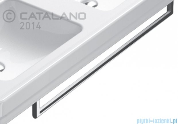 Catalano Canova Royal reling do umywalki 82 cm chrom 5P90CV00