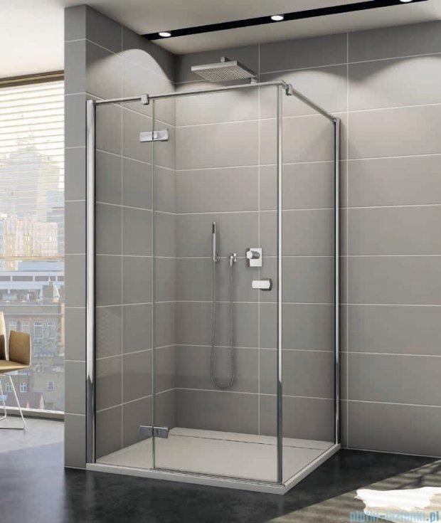 Sanswiss Melia ME13P Kabina prysznicowa lewa 90x80cm przejrzyste ME13PG0901007/MET1PD0801007