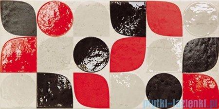 Domino Bihara modern dekor ścienny 22,3x44,8
