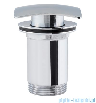 Omnires F706 korek klik-klak do syfonu umywalkowego chrom F706CR