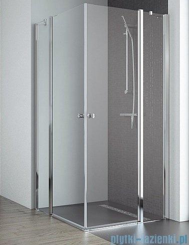Radaway Eos II KDD kabina prysznicowa 80x90 szkło przejrzyste 3799460-01L/3799461-01R