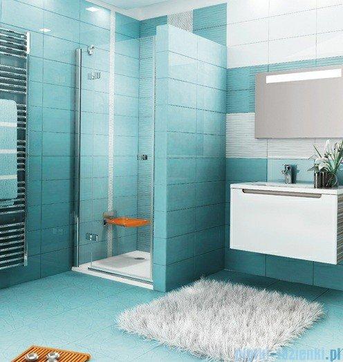 Ravak Drzwi prysznicowe SmartLine SMSD2-110 B lewe chrom+transparent 0SLDBA00Z1
