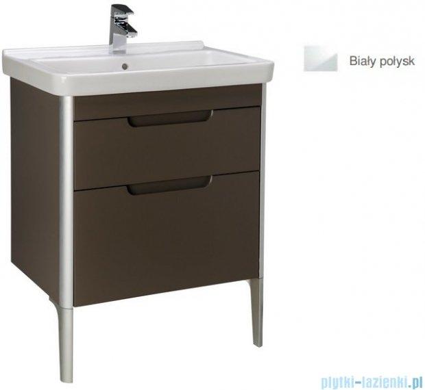 Roca Dama-n Unik 65 zestaw łazienkowy z 2 szufladami biały połysk A851047806