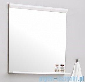 Antado Gabi lustro z półką 68x16cm dąb tabak+biały GBY-L70-3216/WS