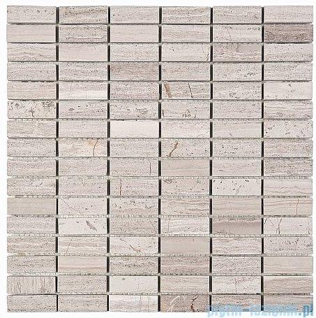 Dunin Woodstone mozaika kamienna 30x30 grey block 48