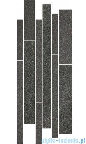 Paradyż Arkesia grafit mix paski listwa 20x52