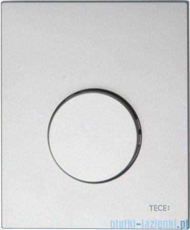 Tece Przycisk spłukujący z tworzywa do pisuaru Teceloop chrom matowy 9.242.625
