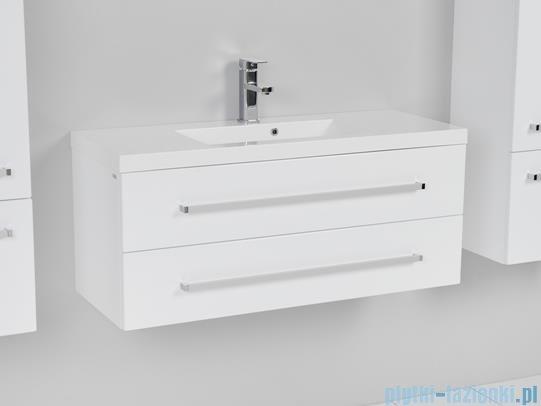Antado Variete Szafka podumywalkowa wisząca z dwiema szufladami 100x39x40 biały połysk FM-C-442/10/2GT