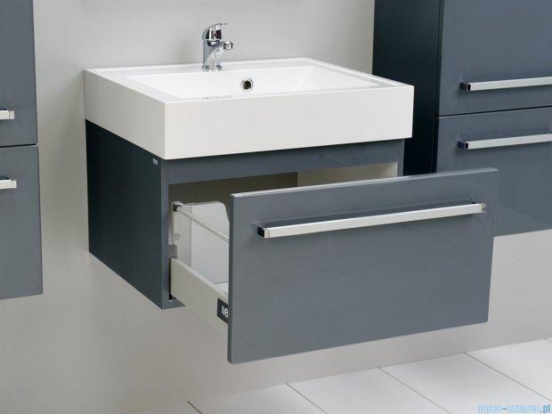 Antado Variete szafka z umywalką, wisząca 60x50x33 szary połysk FM-442/6-K917 + UNA-600