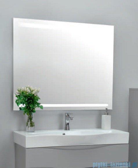 Antado lustro z paskiem świetlnym LED zimne 100x80cm L1-E2-LED2