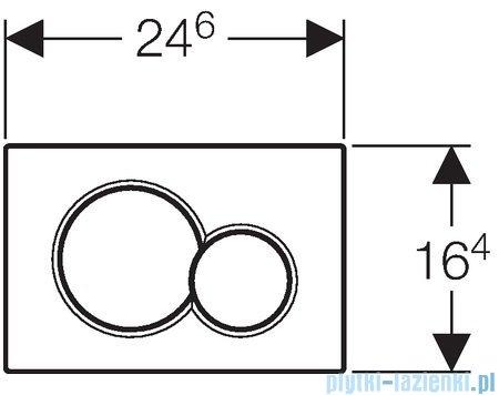 Geberit Sigma01 przycisk spłukujący biały 115.770.11.5