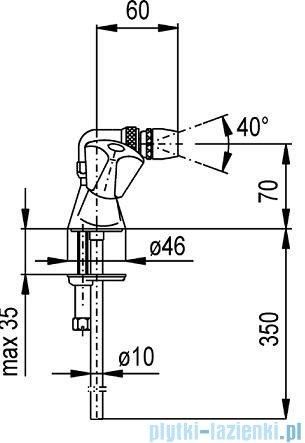 KFA STANDARD Bateria bidetowa 307-015-00