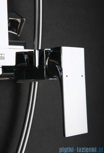 Art Platino Panama zestaw kabinowo-prysznicowy natynkowy chrom PAN-ZKPN.400C