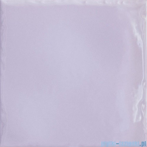Paradyż Tamoe ondulato lila płytka ścienna 19,8x19,8